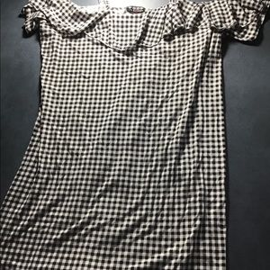 Poof checkered dress size 2x